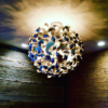 instagram of crowne plaza's light fixture